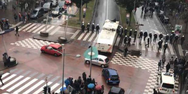 Liège : les supporters grecs sous haute surveillance - La DH