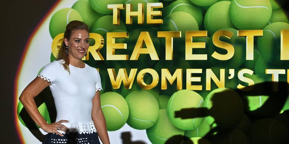 Angelique Kerber joueuse de l'année à la WTA