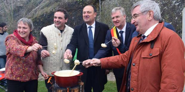 447e8c70505c5 Deux ministres pour une première fête du fromage à Bouillon (PHOTOS) - La DH