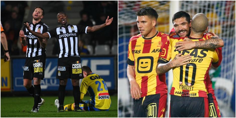 Mouscron craque à Malines (2-0), Charleroi perd des points précieux à Westerlo (0-0)