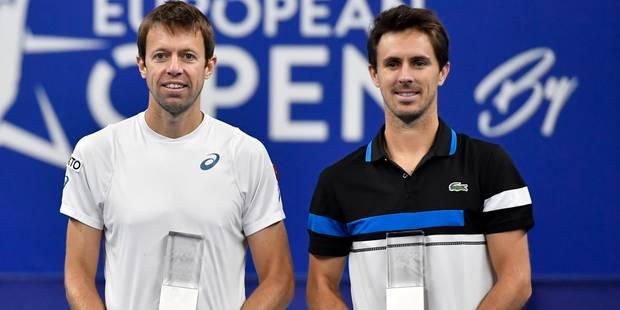 Anvers: Nestor et Roger-Vasselin créent la surprise en finale du double - La DH