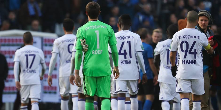 Bruges domine Anderlecht dans un Topper engag� : les bulletins de notes