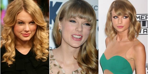 Taylor Swift, 10 ans de carrière et des changements de look impressionnants - La DH