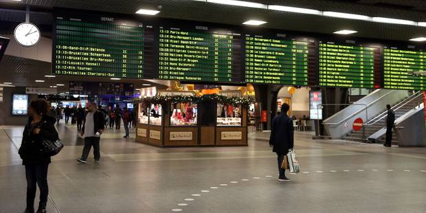La circulation ferroviaire a repris entre Bxl-Nord et Midi après une courte interruption - La DH