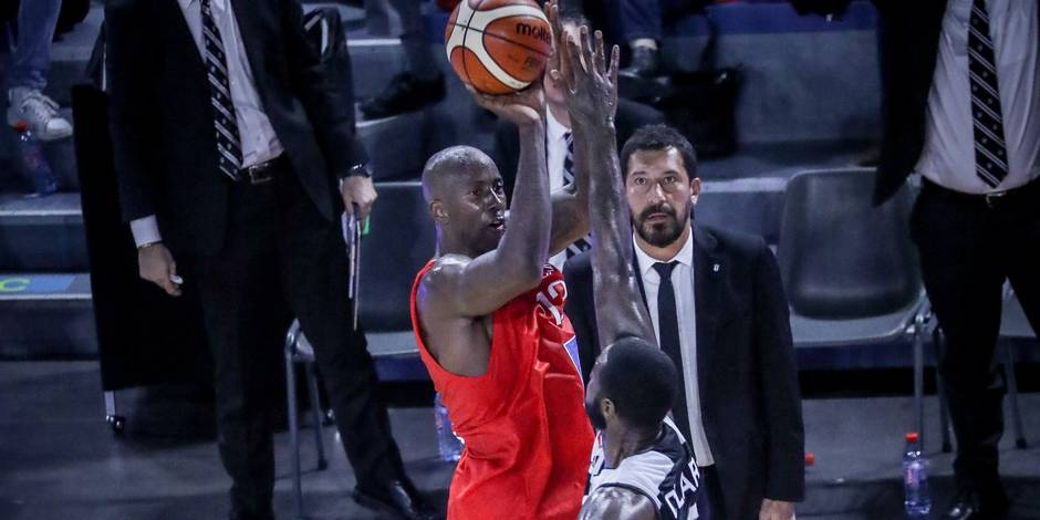 Basket Fiba Champions league/Game1/Spirou-Besiktas/