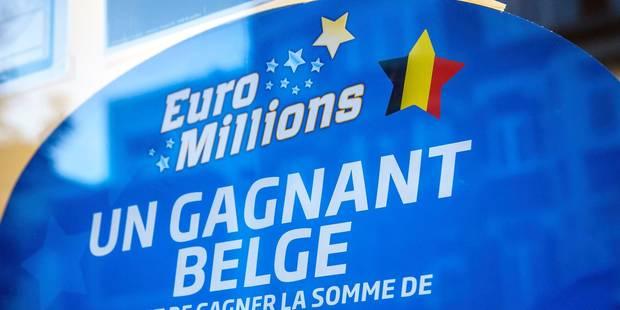 Nouvelle victoire belge à l'Euromillions