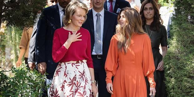 Rania et Mathilde, deux Reines unies par un même combat - La DH