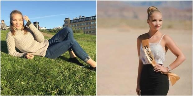 Jugée trop grosse, Miss Islande claque la porte d'un concours de beauté - La DH