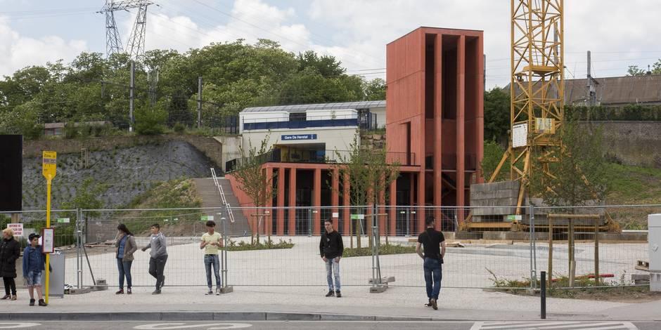 Herstal : une gare qui snobe les PMR !