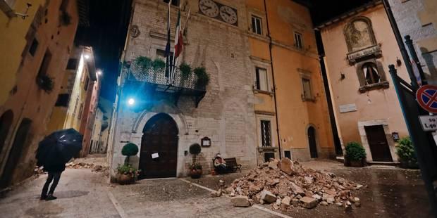 """Fortes secousses en Italie : """"une situation apocalyptique"""", des malaises mais pas de victimes - La DH"""