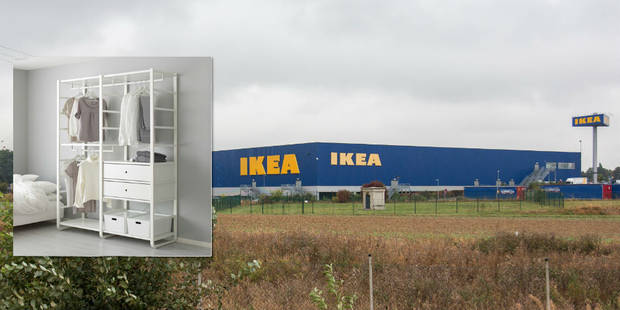 Ikea rappelle un montant en raison d'un risque de chute - La DH