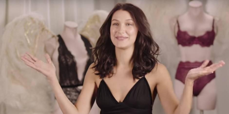 Le casting de Bella Hadid pour la marque de lingerie Victoria's Secret