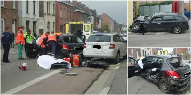 Trazegnies: deux blessés lors d'une collision - La DH