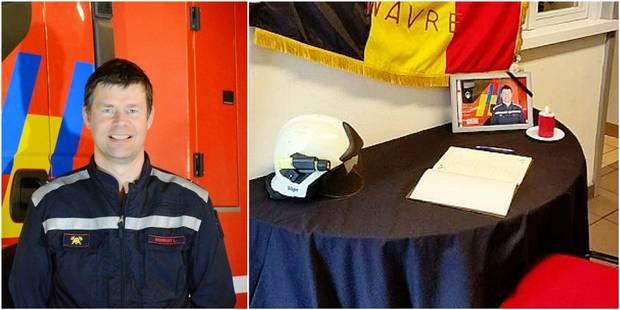Les pompiers de Wavre pleurent leur frère Luc mort à cause d'un conducteur fantôme - La DH