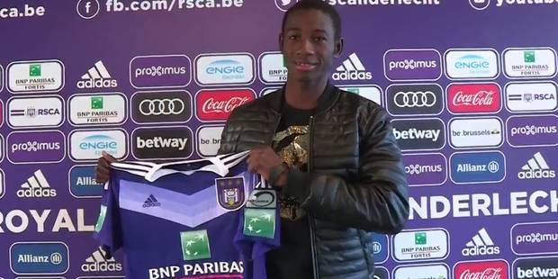 Le jeune défenseur malien Abdoul Karim Danté a signé à Anderlecht - La DH