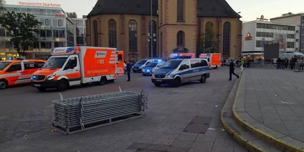 Allemagne: plusieurs blessés dans une agression au couteau à Francfort (VIDEO) - La DH