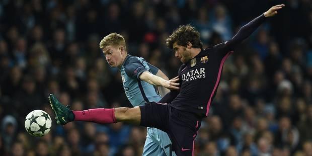 Le sublime coup franc de De Bruyne face au Barça (VIDEO) - La DH