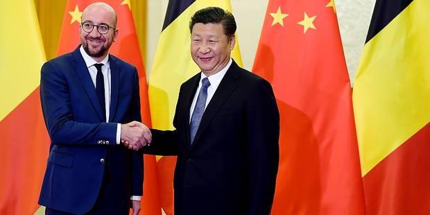Charles Michel veut renforcer les liens Belgique-Chine - La DH