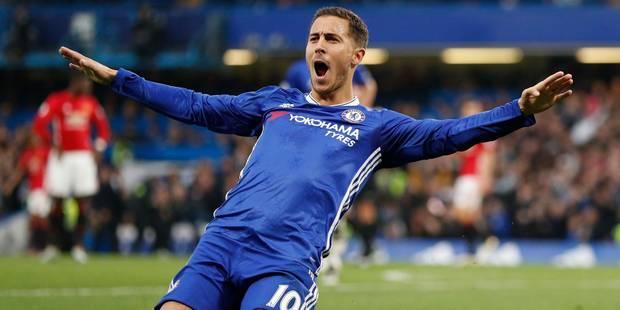 Eden Hazard élu joueur du mois en Premier League par les supporters - La DH
