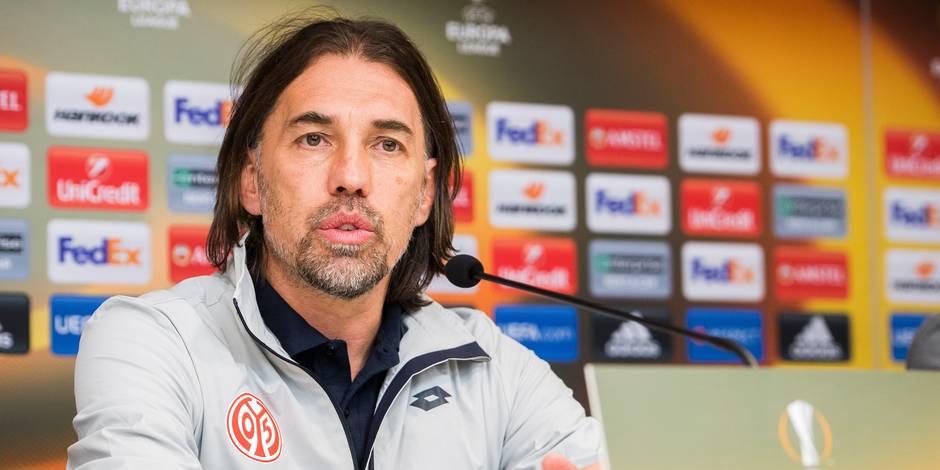 Europa League: l'entraîneur de Mayence se méfie du sursaut d'orgueil anderlechtois