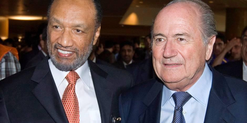 Bin Hammam et Blatter