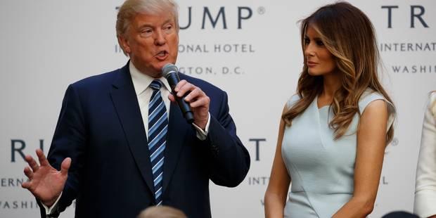 La femme de Trump ancienne escort-girl ? Elle dépose plainte pour diffamation ! - La DH