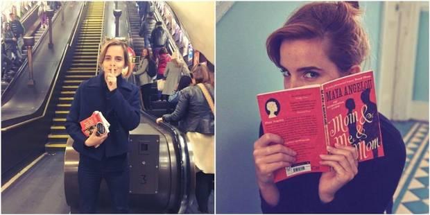 Mais que faisait Emma Watson, incognito, dans le métro de Londres ? - La DH