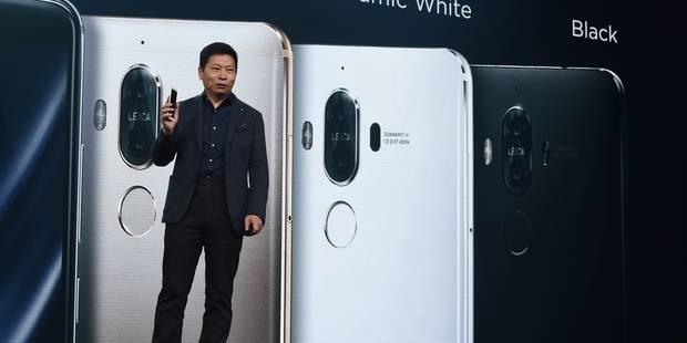 Huawei lance son téléphone Mate 9 pour rivaliser avec Apple et Samsung - La DH