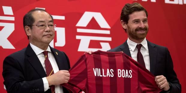 André Villas-Boas nommé entraîneur... du Shanghai SIPG - La DH