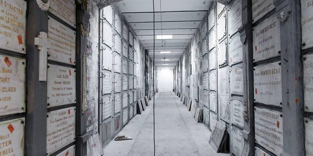 Les galeries funéraires bientôt accessibles - La DH