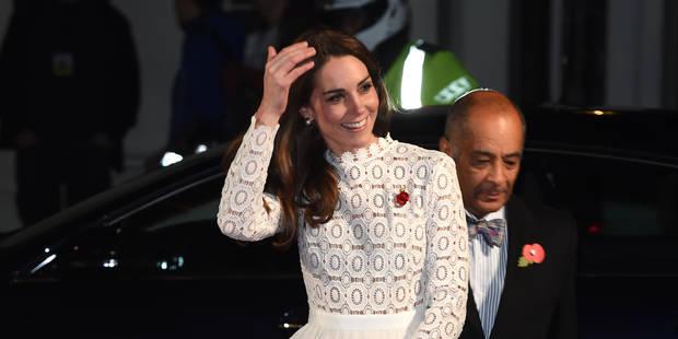 Kate Middleton ose la robe fendue - La DH