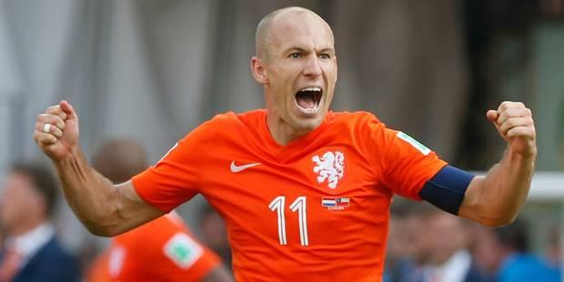 Robben retrouve les Oranje mais ne jouera pas contre la Belgique - La DH