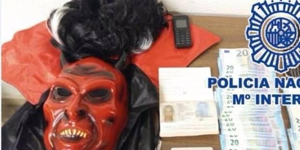 Espagne: le meurtrier français en cavale était déguisé en diable - La DH