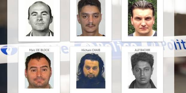 """Voici les 20 criminels """"Most wanted"""" de Belgique (VIDEO) - La DH"""