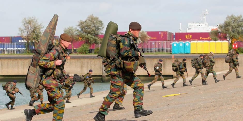 Exclusif: les militaires vont subir des tests physiques jusqu'à leur... pension! - La DH