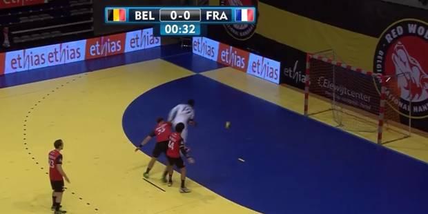 Luc Abalo fait étalage de sa classe face à la Belgique (VIDEO) - La DH