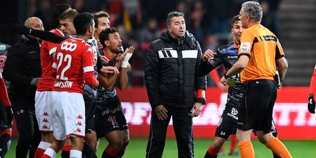 """Carte rouge de Trezeguet lors de Standard-Mouscron: """"Le match ne sera pas rejoué"""" - La DH"""