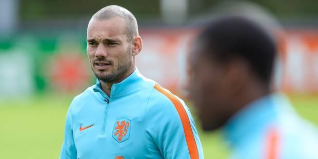 """Sneijder: """"Nous ne sommes pas jaloux des Belges"""" - La DH"""