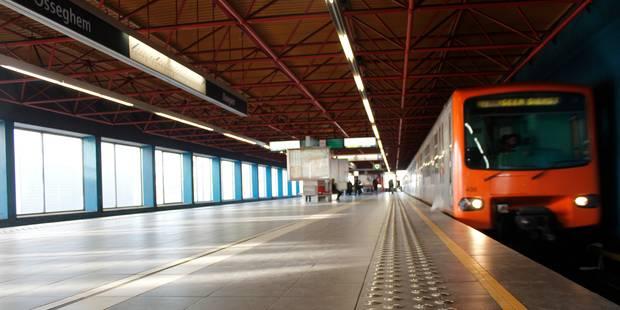 Fausse alerte à la station Osseghem: le trafic du métro bruxellois a pu reprendre - La DH
