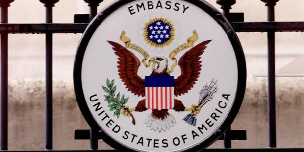 """Ambiance à l'ambassade US de Bruxelles: """"Ce n'est pas ce à quoi je m'attendais..."""" - La DH"""