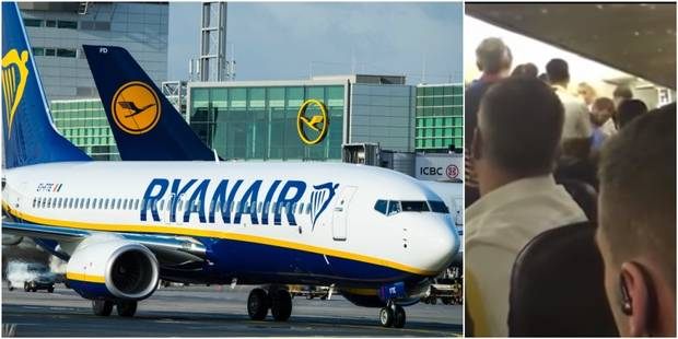 Bagarre à bord d'un vol Ryanair: L'agresseur était recherché par la Roumanie - La DH