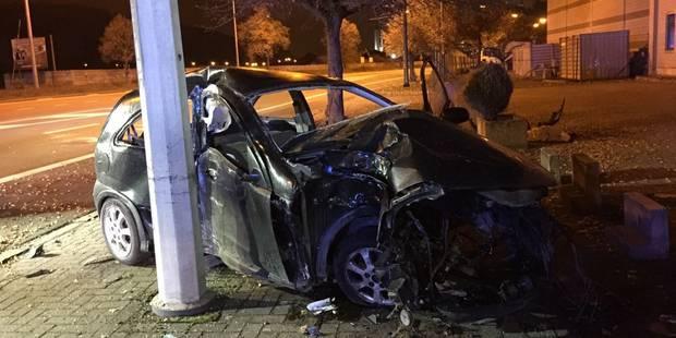 Ejecté de sa voiture à Tihange - La DH