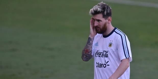 Le curieux tatouage flambant neuf de Messi (PHOTOS) - La DH