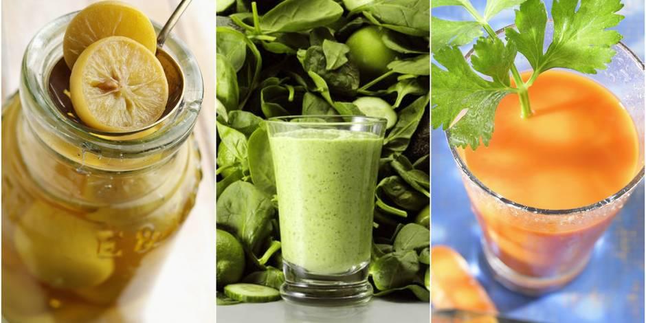 Les super jus pour supporter l 39 automne et l 39 hiver - Cuisiner les potimarrons ...