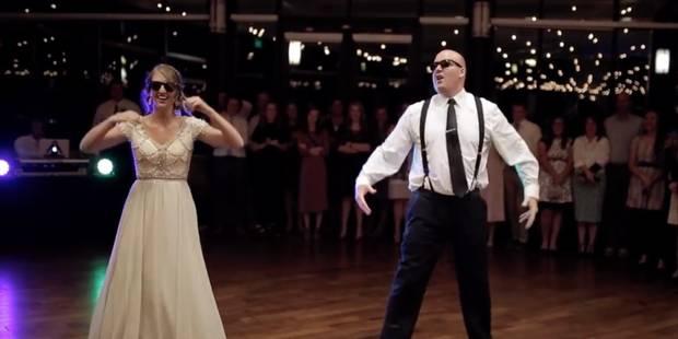 Une incroyable danse de mariage entre un père et sa fille - La DH
