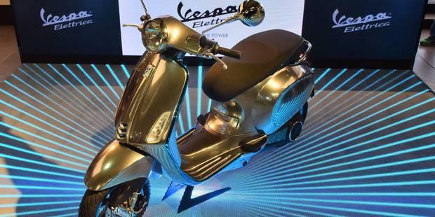 La mythique Vespa va sortir une version électrique - La DH