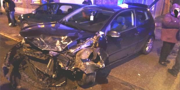Souvret: Deux blessés lors d'une violente collision - La DH
