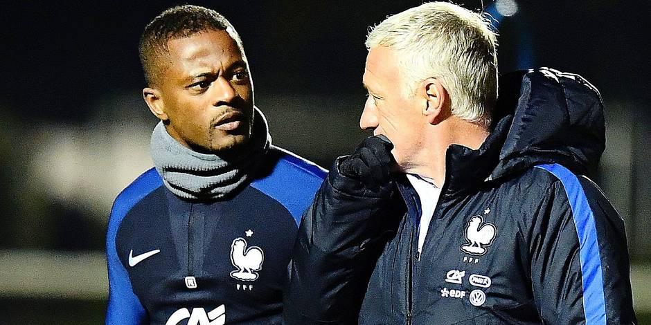 Evra ne lâchera pas sa place en équipe de France si facilement