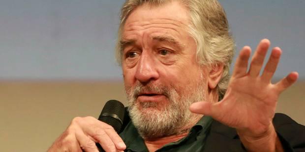 """Robert De Niro, """"très déprimé"""", soutient les manifestations anti-Trump - La DH"""