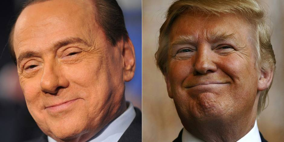 Quand Berlusconi se compare à Donald Trump...